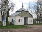 Черневичи, церковь: брама, кон. XIX в.