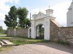 Деревное, костел: брама и ограда, XIX в.?