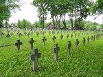 Гродно, кладбище военное: могилы польских солдат, 1920-е гг.