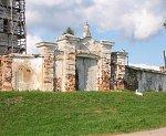 Ивенец, монастырь: брама, XVIII в.