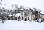Красная Звезда, усадьба:  дворец (руины), 1780-83 гг…