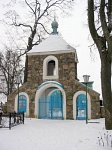 Лань, церковь: брама-колокольня