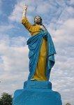 Лемешевичи, церковь: скульптура Иисуса, 1943 г.?