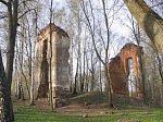 Логойск, усадьба:  дворец (руины), 1819 г.