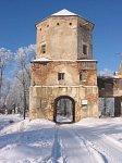 Любча, замок:  башня-брама, нач. XVII в.