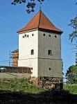 Любча, замок: башня угловая, XVII в.