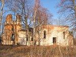 Мостовики, церковь (руины), 2-я пол. XIX в.?