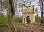 Новодевятковичи, кладбище католическое:   часовня-усыпальница, 1-я пол. XIX в.