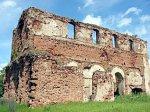 Новоспасск, церковь Спасо-Преображенская (руины), 2-я пол. XVIII в.?