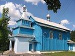 Огородники (Камен. р-н; Волчин. сс), церковь св. Онуфрия (дерев.), 1730 г…