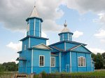 Октябрь (Кобрин. р-н), церковь Покровская (дерев.), 1937 г.