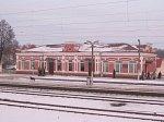 Олехновичи, железнодорожная станция, нач. XX в.