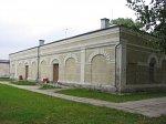 Осиповичи, железнодорожная станция: служебные корпуса, кон. XIX-нач. XX вв.