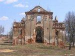 Пустынки, монастырь:  собор Успенский (руины), 1801-08 гг…