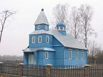 Рацевичи, церковь Благовещенская (дерев.), 1993 г.