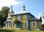 Радостово, церковь Покровская (дерев.), 1862 г.