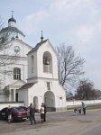 Раков, церковь Спасо-Преображенская: брама-колокольня, 1887 г.