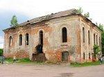 Ружаны, синагогальный двор:  синагога, кон. XVIII в.?