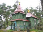 Саковщина, церковь св. Ильи (дерев.), 1878 г.