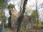 Селищи (Борис. р-н), церковь Успенская (дерев.; руины), XIX в.?