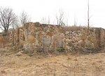 Сидоровичи (Мядел. р-н), усадьба:  хозпостройка (руины), XIX в.