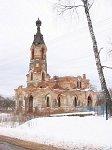 Слабодка (Бешенк. р-н), церковь св. Николая (руины), кон. XIX-нач. XX вв.