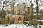 Сунаи, усадьба:   павильон (?) (руины), XIX в.