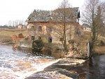 Узла, водяная мельница (руины), XIX в.?