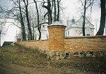 Великая Липа, церковь:  ограда, 1833 г.