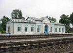 Залесье (Сморг. р-н), железнодорожная станция, нач. XX в., 2-я пол. XX в.