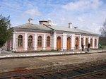 Зябки, железнодорожная станция, нач. XX в.