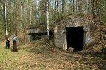Абрамовщина 3-я, оборонительные сооружения 1-й мировой войны, 1915-18 гг.