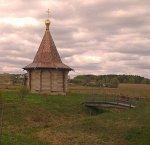 Барань (Борис. р-н), часовня св. Иоанна Крестителя (дерев.), с 2010 г.