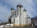 Белоозерск, церковь св. Серафима Саровского, 1992-95 гг.