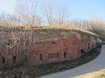 Бобруйск, крепость:  пониженный бастион защиты горжевого вала, 1807-36 гг.