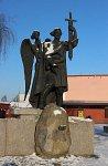Борисов, памятник основателю города Борису Всеславичу