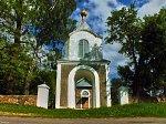 Борщево, церковь: брама-колокольня, XIX в.