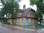 Браслав, железнодорожная станция (дерев.), 1-я пол. XX в.