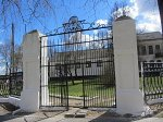 Чечерск, дворец: брама, XIX в.?