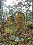Червень, кладбище католическое: часовни-надмогилья, XIX в.