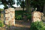 Дерковщина, кладбище католическое: брама (руины), XIX в.