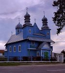 Дивин, церковь св. Параскевы Пятницы (дерев.), 1740 г.