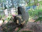Экимань, каменные кресты
