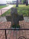 Глушкевичи, каменный крест