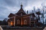 Горно, церковь Благовещенская (дерев.), после 1990 г.