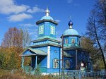 Городец (Рогач. р-н), церковь Успенская (дерев.), 1869 г.