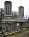 Гродно, кладбище православное: могила генерал-майора Ланскова