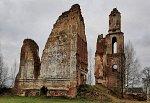 Губино, костел св. Антония (руины), 1714 г.