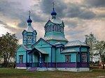 Хабовичи, церковь Покровская (дерев.), 1899 г.