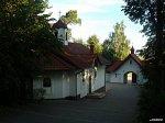 Хмелево, монастырь:  церковь в честь иконы Богоматери Ченстоховской, 2000 г.